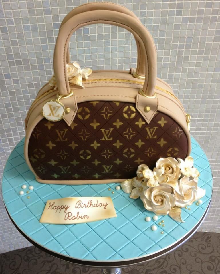 Purse Inspired Birthday Cake Ideas For Women