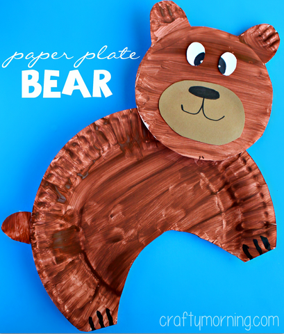 paper-plate-bear-craft-for-kids-