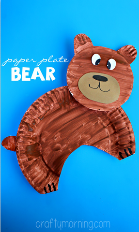 paper-plate-bear-craft-for-kids