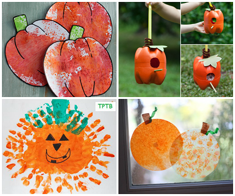 Easy Pumpkin Crafts For Kids To Make This Fall Crafty Morning