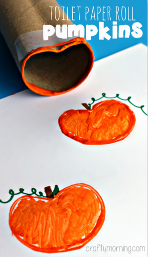 toilet-paper-roll-pumpkin-stamp-halloween-craft