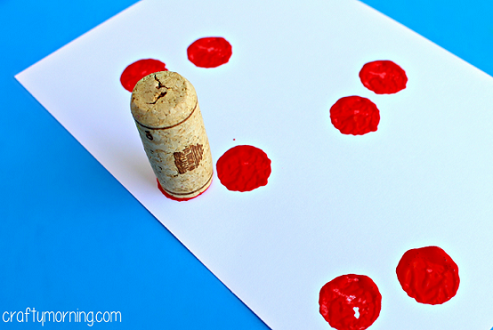 wine-cork-cherries-craft-for-kids-