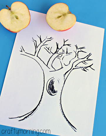 apple-stamping-tree-craft-for-kids-