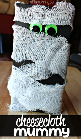 cheesecloth-mummy-craft-for-kids-to-make