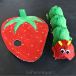 Egg Carton Hungry Caterpillar Craft