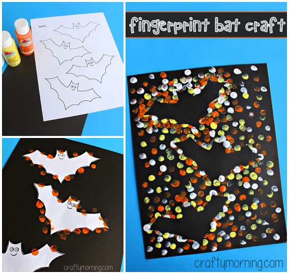 fingerprint-bat-silhouette-halloween-kids-craft