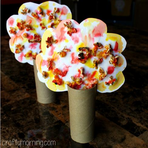 popcorn-fall-tree-kids-craft
