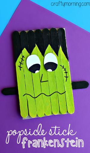 popsicle-stick-frankenstein-craft-for-kids