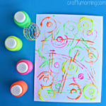 Blenderball Wire Whisk Painting Activity for Kids