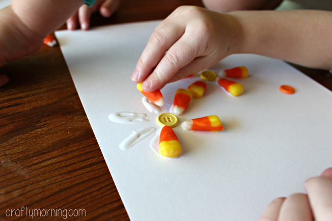 candy-corn-flower-craft-for-kids-