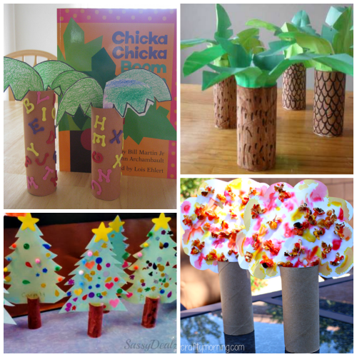 cardboard-tube-tree-crafts-for-kids