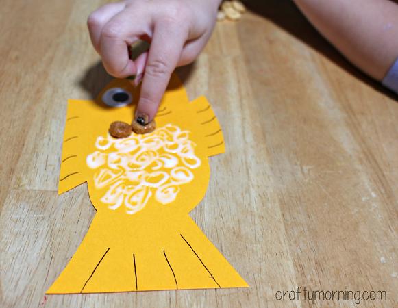 cheerios-fish-craft