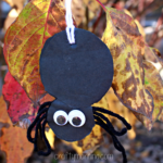 Easy Yarn Spider Craft for Kids