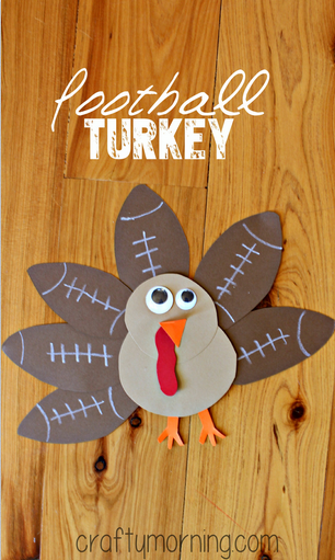 football-turkey-craft-for-kids