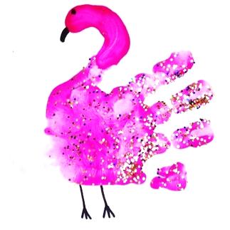 handprint-flamingo-craft-for-kids