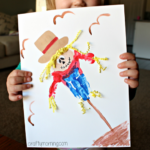 Handprint Scarecrow Craft for Kids to Make