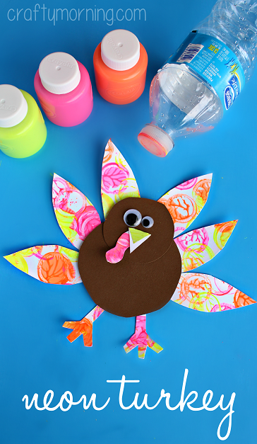 neon-turkey-kids-craft-for-thanksgiving