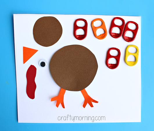 soda-pop-tab-turkey-craft-for-kids-