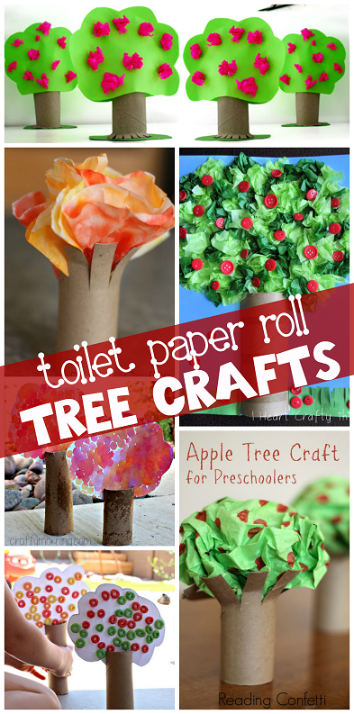 toilet-paper-roll-tree-crafts-for-kids