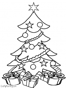 Christmas-tree-free-coloring-page