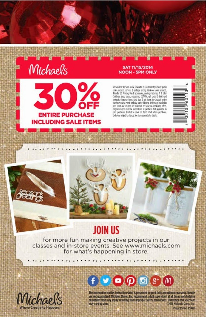 Holiday 2014 Pinterest Party coupon