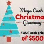 Christmas Cash Giveaway of $500! (4 Winners)