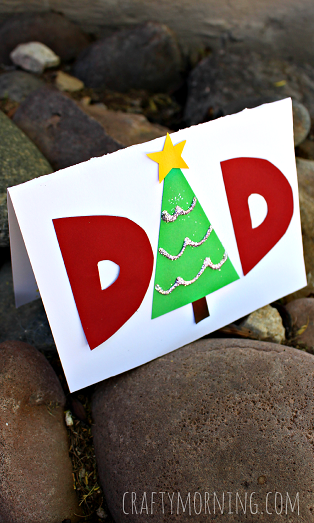 christmas-card-for-dad-kids-craft