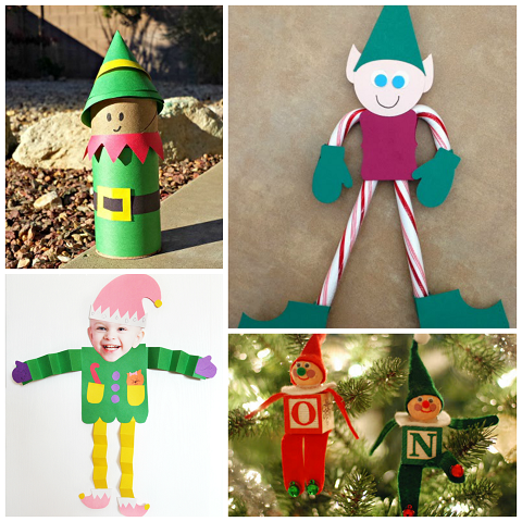 Elf Art Projects For Preschoolers