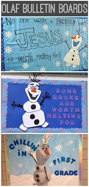 frozen-olaf-bulletin-board-ideas-for-the-classroom