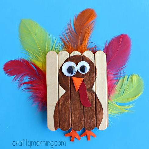 mini-popsicle-stick-turkey-craft-for-kids