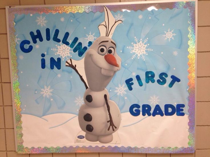 olaf-bulletin-board-for-classroom-chillin