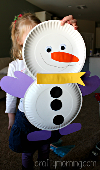 paper-plate-snowman-christmas-craft-for-kids
