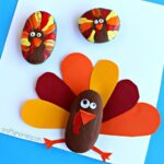 Decorate Rocks as Turkeys! (Thanksgiving Kids Craft)