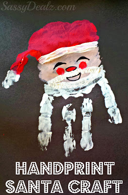 santa-claus-handprint-craft