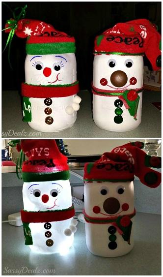 snowman-mason-jar