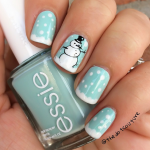 Cute Winter and Christmas Nail Ideas