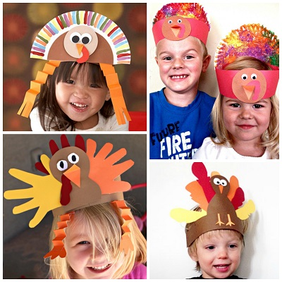 8 Easy Turkey Hats For Kids To Make Crafty Morning