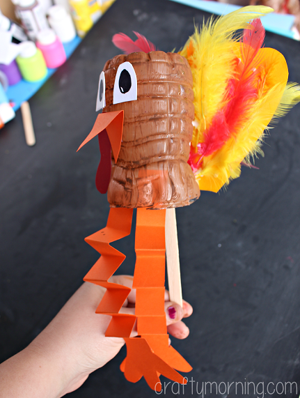 water-bottle-turkey-craft-for-kids
