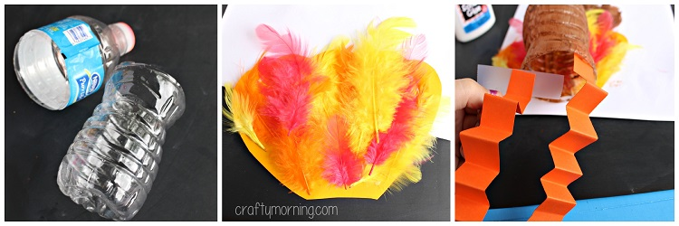 water-bottle-turkey-puppet-craft