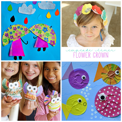 cupcake-liner-art-projects-for-kids
