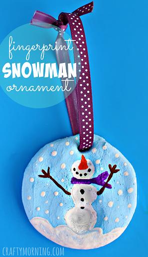 fingerprint-snowman-salt-dough-ornament-craft-for-kids