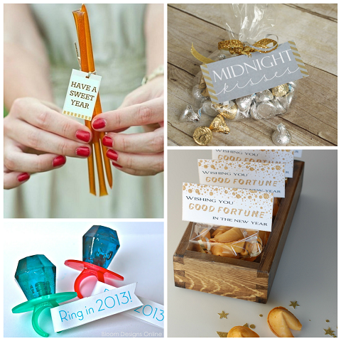 Clever New Year's Eve Party Favor Ideas - Crafty Morning