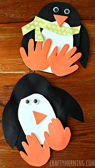 winter-handprint-penguin-craft-for-kids