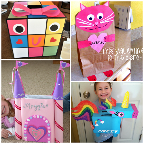 The Cutest Valentine Boxes that Kids will Love