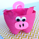 2-Liter Bottle Pig Craft for Kids to Make