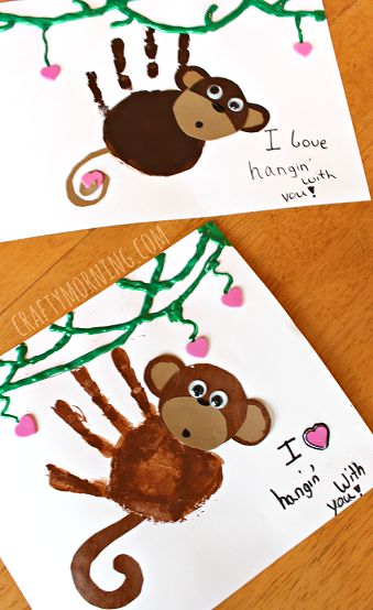 cute-handprint-valentine-monkey-craft-for-kids