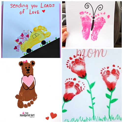 footprint-valentine-crafts-for-kids
