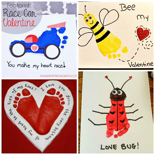 footprint-valentines-day-crafts-for-kids
