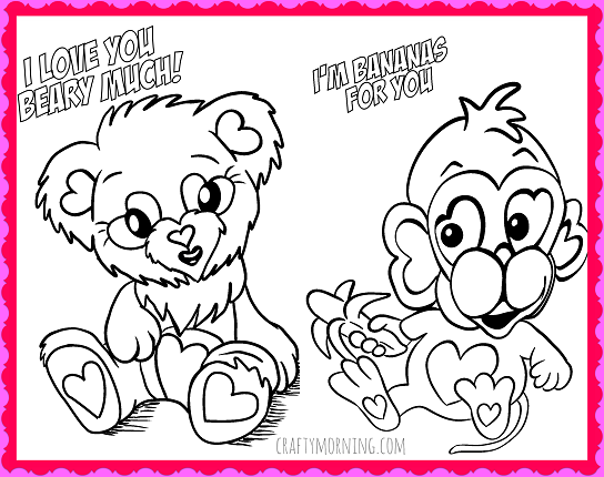 - Free Printable Valentine's Day Coloring Pages - Crafty Morning