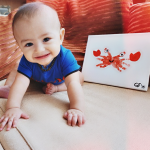 Handprint Crab Craft for Kids and Babies